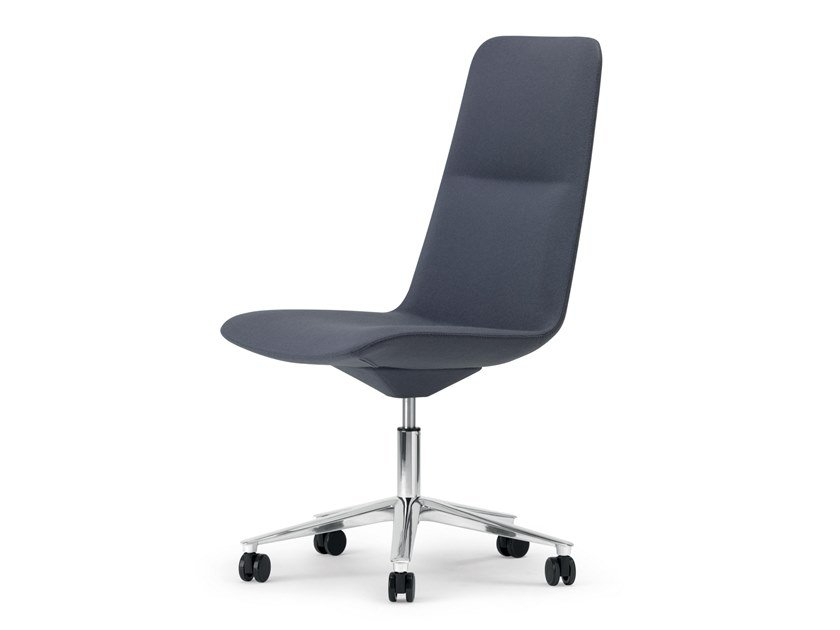 5-Speichen- Bürostuhl mit Rollen SLIM CONFERENCE HIGH 5 - 825 by Alias
