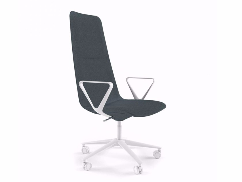 Swivel high-back chair with armrests SLIM CONFERENCE HIGH 5 - 826 by Alias