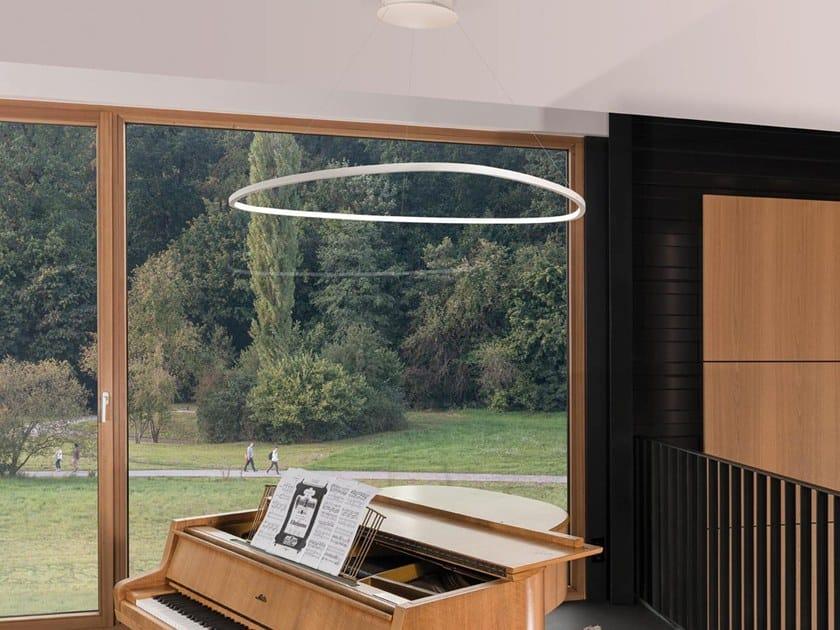 LED pendant lamp SLIM DELTA by Sattler