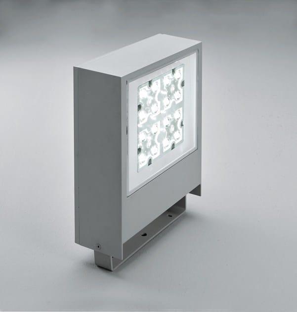 LED die cast aluminium Outdoor floodlight SLIM F.8302 by Francesconi & C.