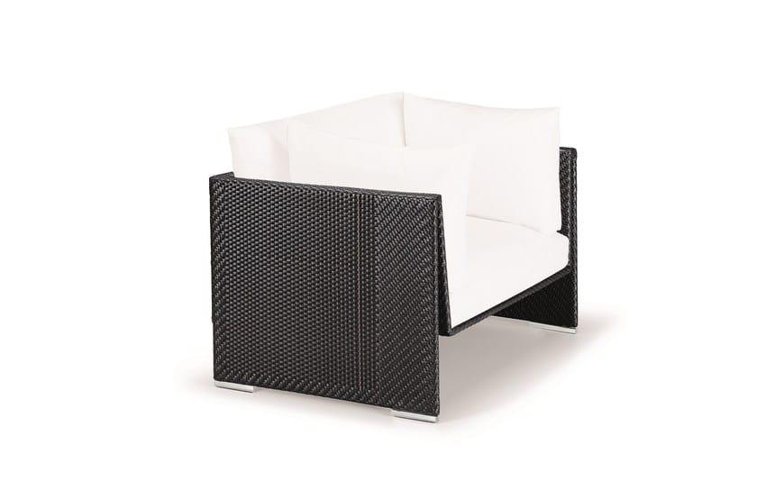 Club garden armchair SLIM LINE | Garden armchair by Dedon