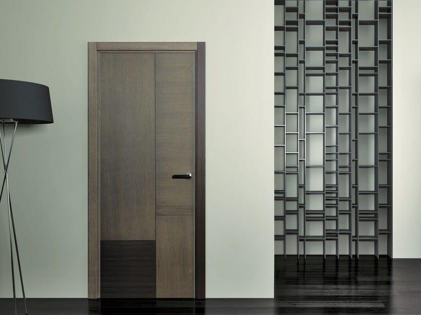 Hinged wooden door SLIM by Pail Serramenti