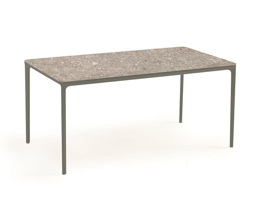 Rectangular ceramic table SLIM RECTANGULAR   Ceramic table by Sovet italia