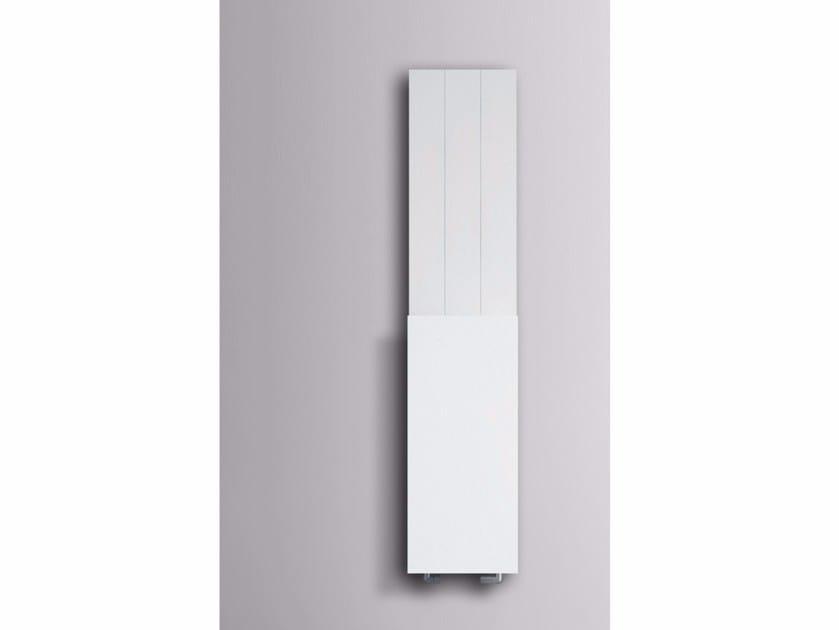 Dual energy wall-mounted radiator with towel warmer SLIM | Radiator by mg12