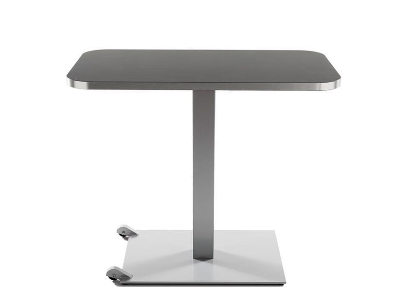 Iron table with castors SLIM TROLLEY by Vela Arredamenti