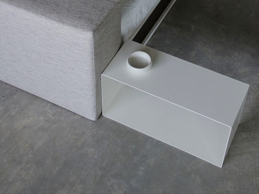 Plate coffee table / bedside table SLIM by XAM