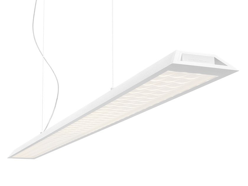 LED aluminium pendant lamp SLIMGOT 150 by Arkoslight