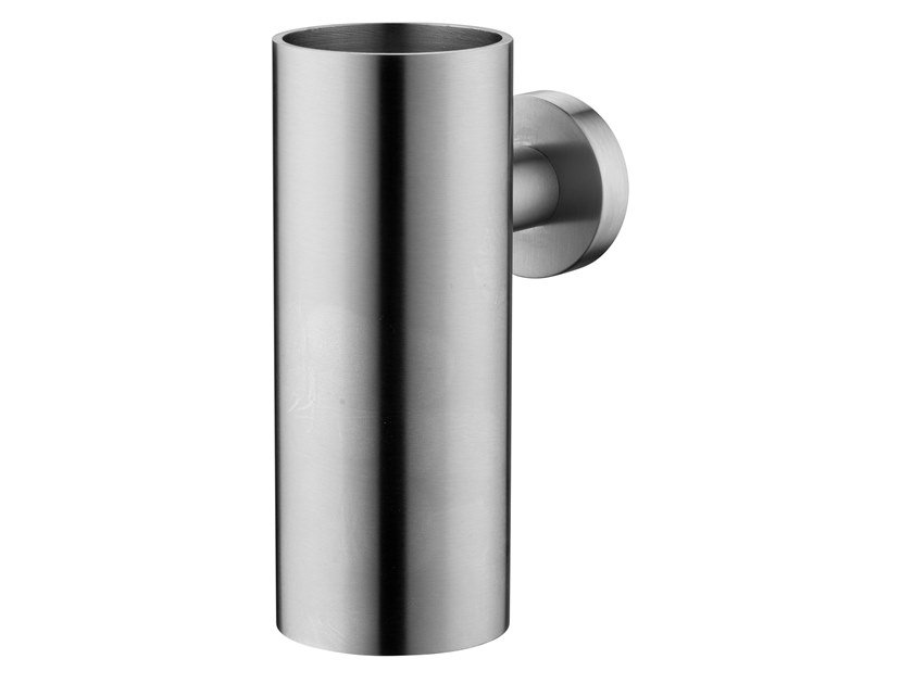 Wall Mounted Stainless Steel Toothbrush Holder Slimline Wall Cup Slimline Collection By Jee O