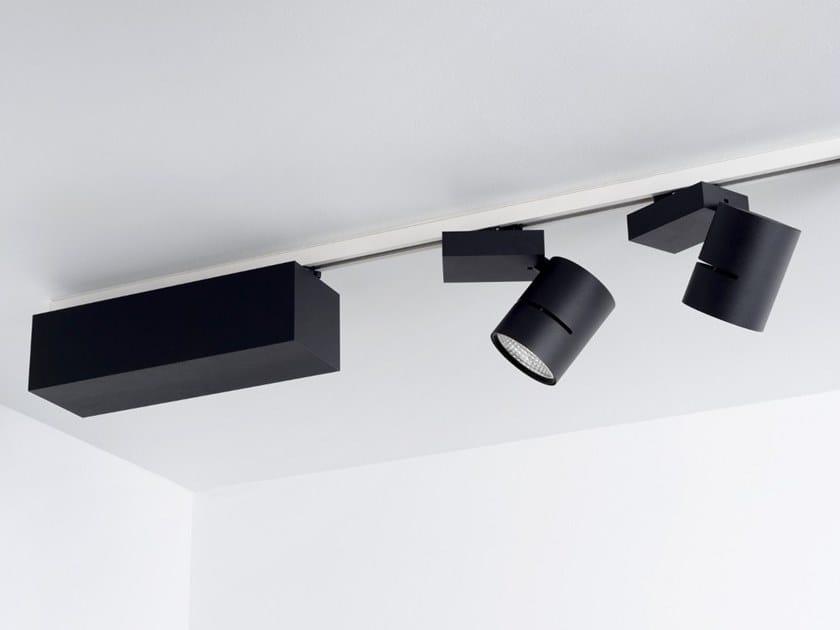 Illuminazione a binario a led con dimmer slingshot zumi