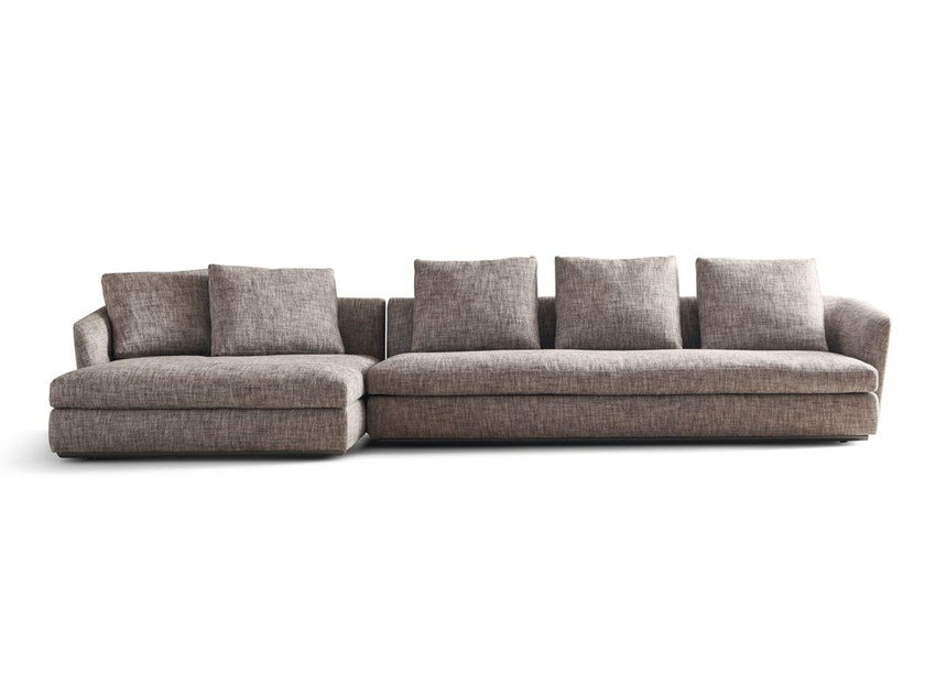 Sectional sofa SLOANE by Molteni