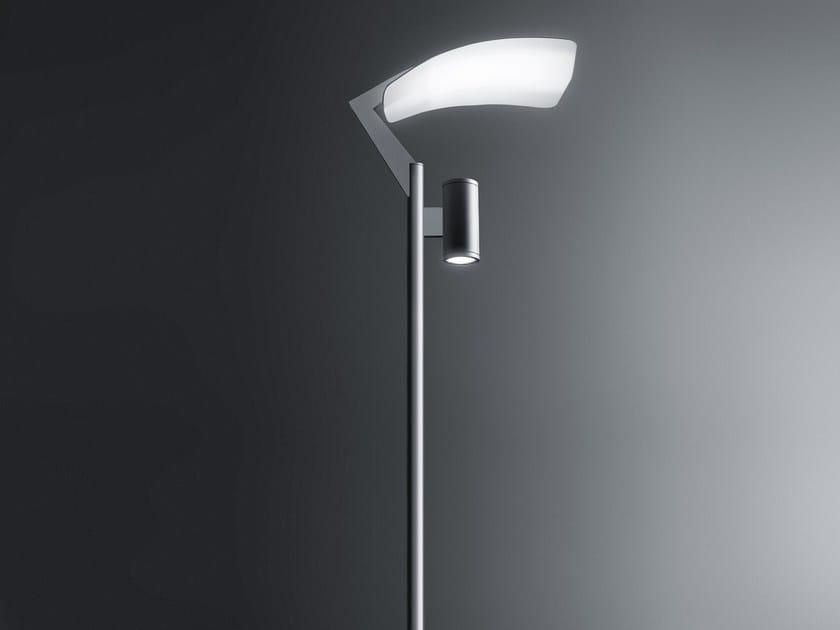 Metal halide aluminium street lamp SLOT VELA by SIMES