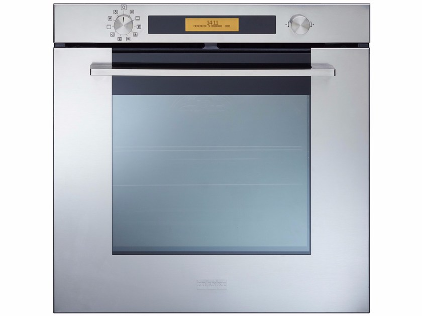 Stainless steel oven SM 981 M XS M By FRANKE design Bruno Barbieri