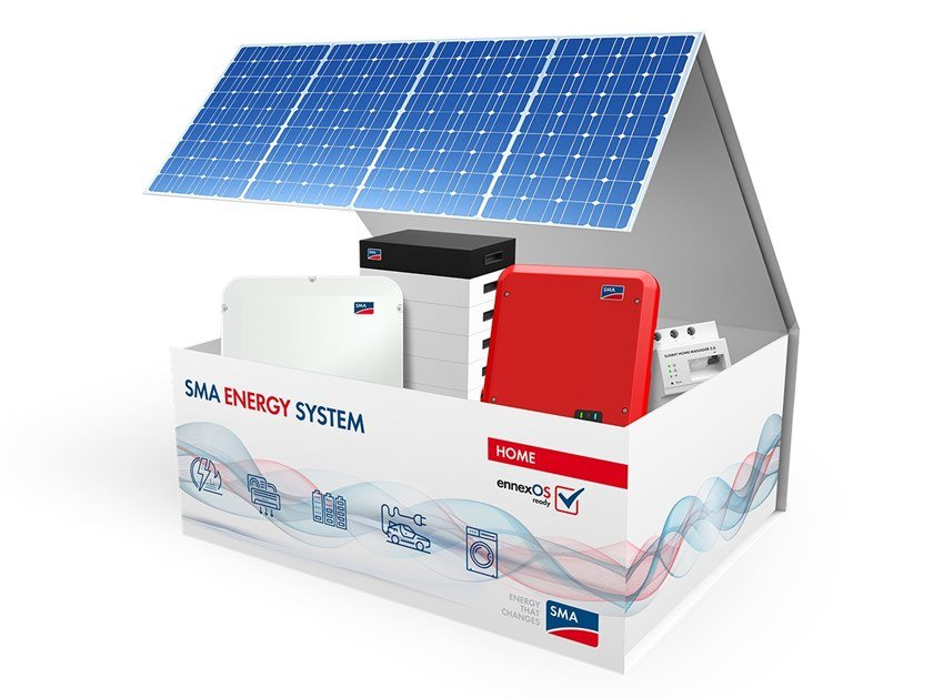 Monitoring system for photovoltaic system SMA ENERGY SYSTEM – HOME M by SMA