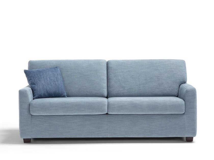 Fabric sofa bed with removable cover SMALL by Dienne Salotti