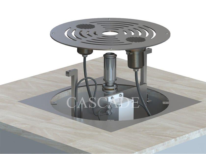 Sistema modulare per fontane a pavimento SMART DRY SYSTEM by CASCADE