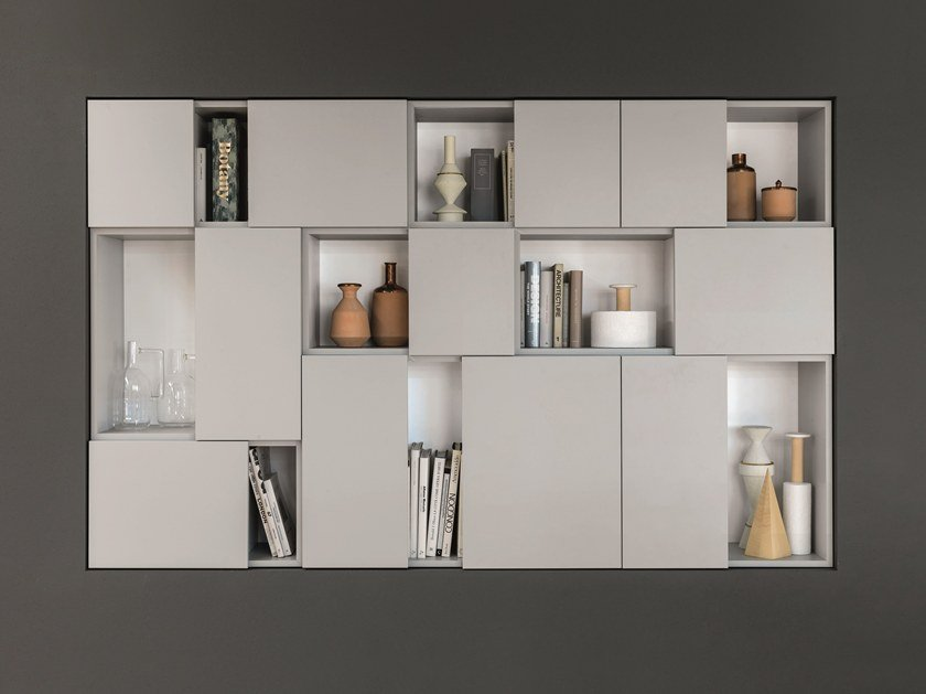 Wall cabinet with door SMART by Euromobil