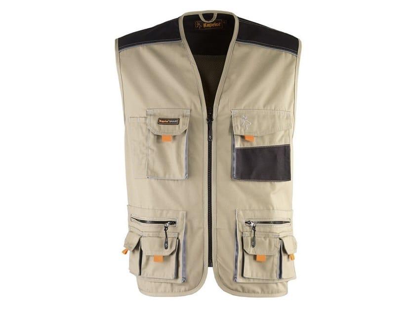 Work clothes SMART GILET BEIGE by KAPRIOL