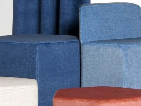 Solid-color polyester fabric SMART by LELIEVRE