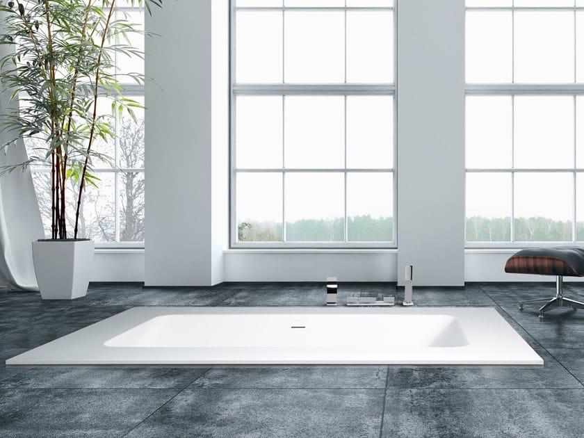 Freestanding built-in bathtub SMART ONE by AQUAdesign