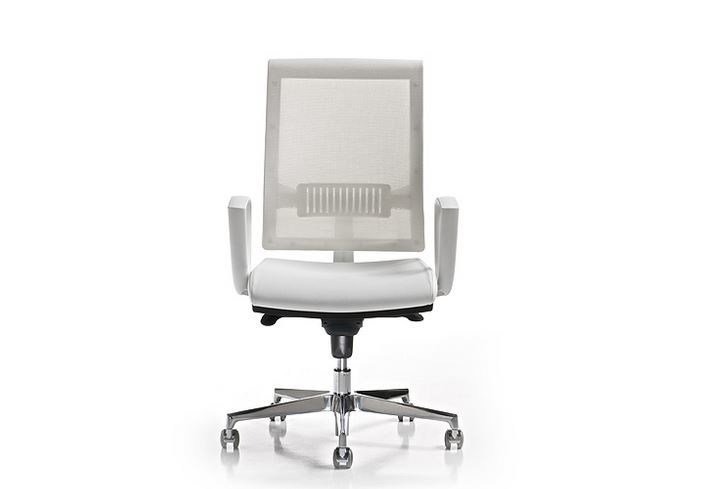 Task chair with 5-Spoke base with armrests SMART | Task chair with armrests by Diemme