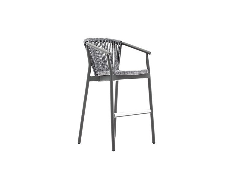 High stool with footrest SMART | Stool by Varaschin