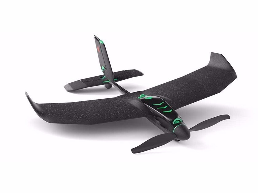 Smartphone controlled stunt & racing plane SMARTPLANE PRO by TobyRich