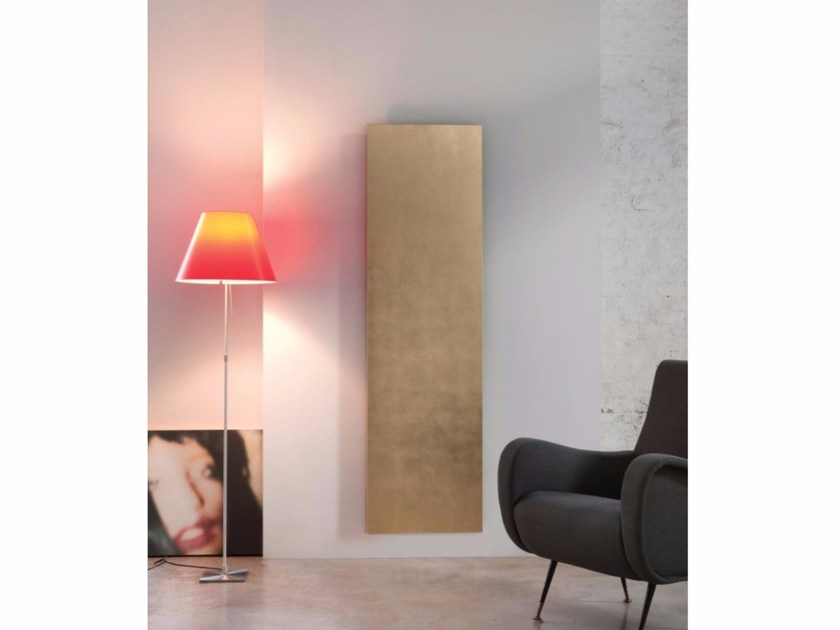 Wall-mounted aluminium radiator SMOOTH PRESTIGE by RIDEA
