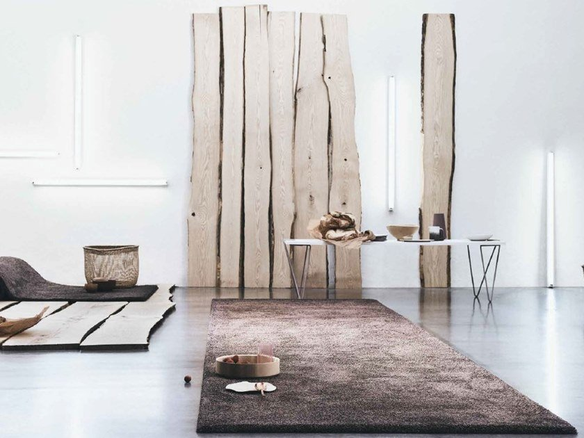 Solid-color rectangular rug SMOOZY 1600 | Solid-color rug by OBJECT CARPET