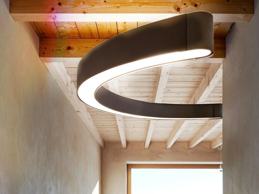 LED pendant lamp SNAKE 110/18 by Gibas