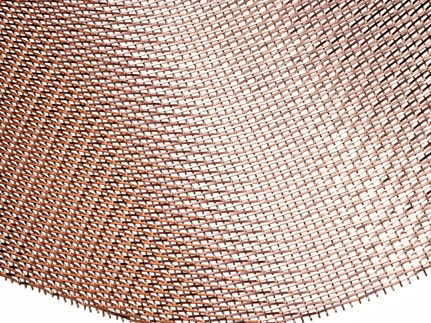 Bronze Metal fabric and mesh SNAKE BRONZE by MeshArt™