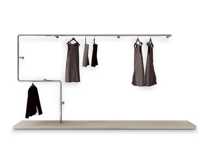 Armario vestidor composable en acero SNAKE by PIANCA