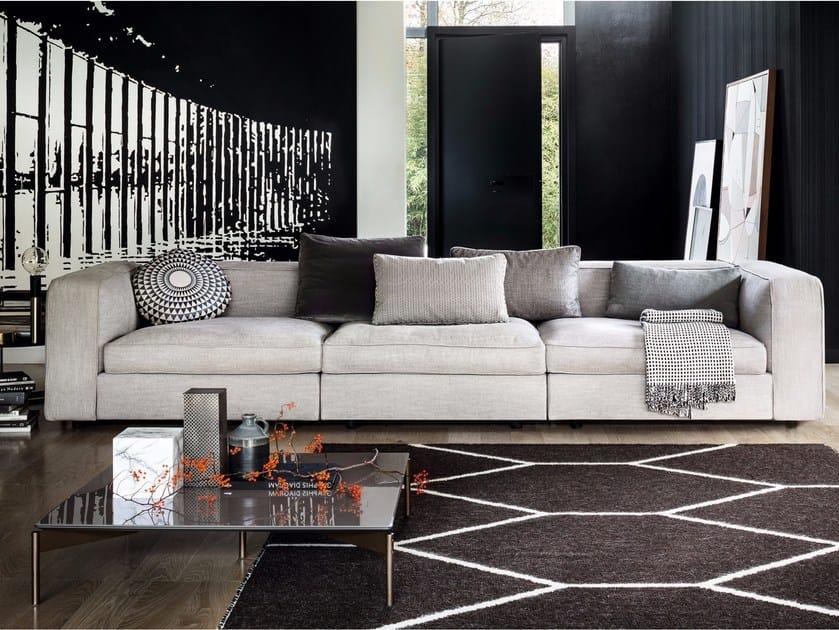 3 seater fabric sofa SNAP | Sofa by Lema