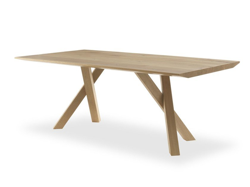Rectangular wooden table SNAP | Table by Riva 1920