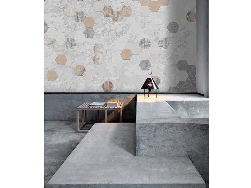 Wall tiles / wallpaper SNEAKY by Officinarkitettura®