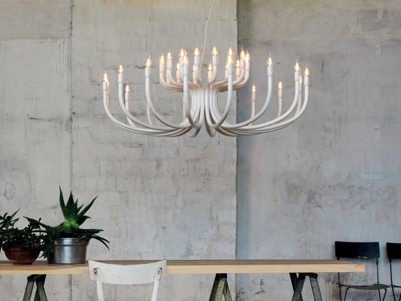 Aluminium pendant lamp SNOOB by Karman