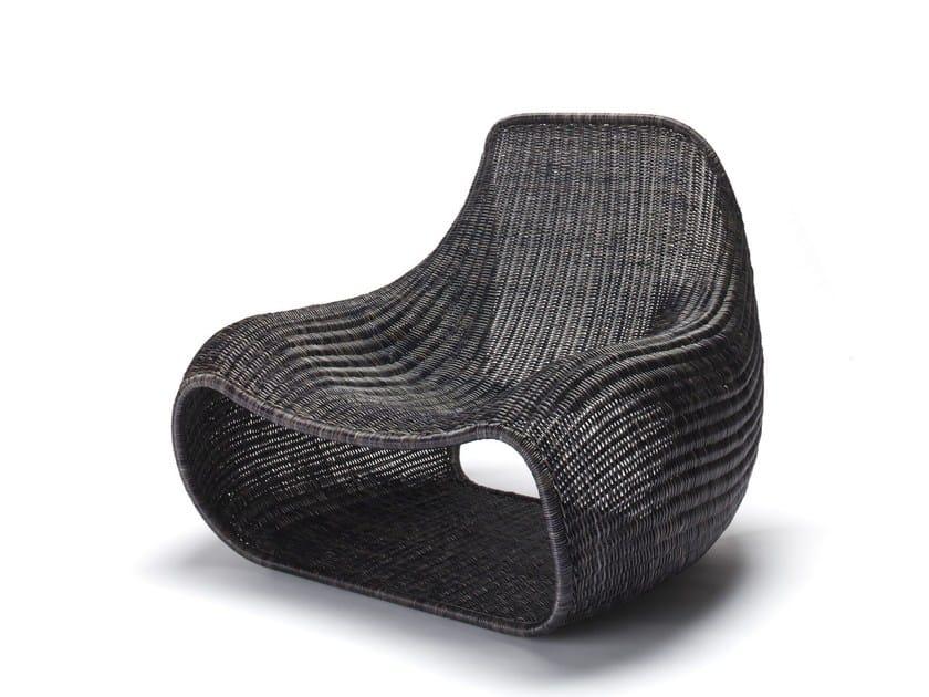 Poltrona in rattan SNUG by Feelgood Designs