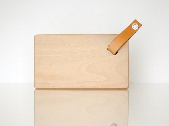 Rectangular birch chopping board SOAHKI by Gedigo