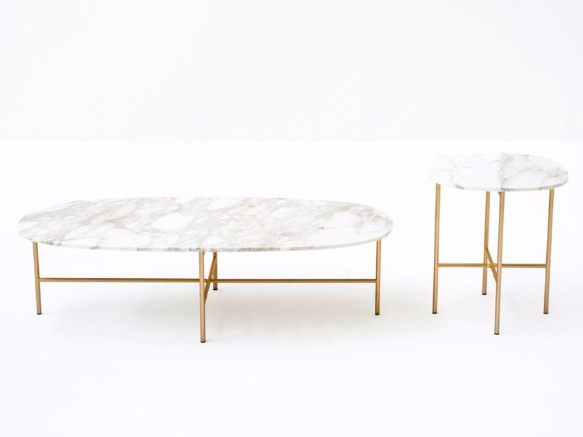 Marble Coffee Table SOAP By Tacchini Design Gordon Guillaumier - All marble coffee table
