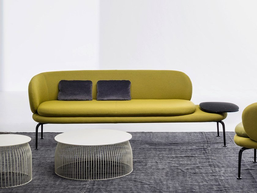 Sectional fabric leisure sofa SOAVE | Sofa by La Cividina