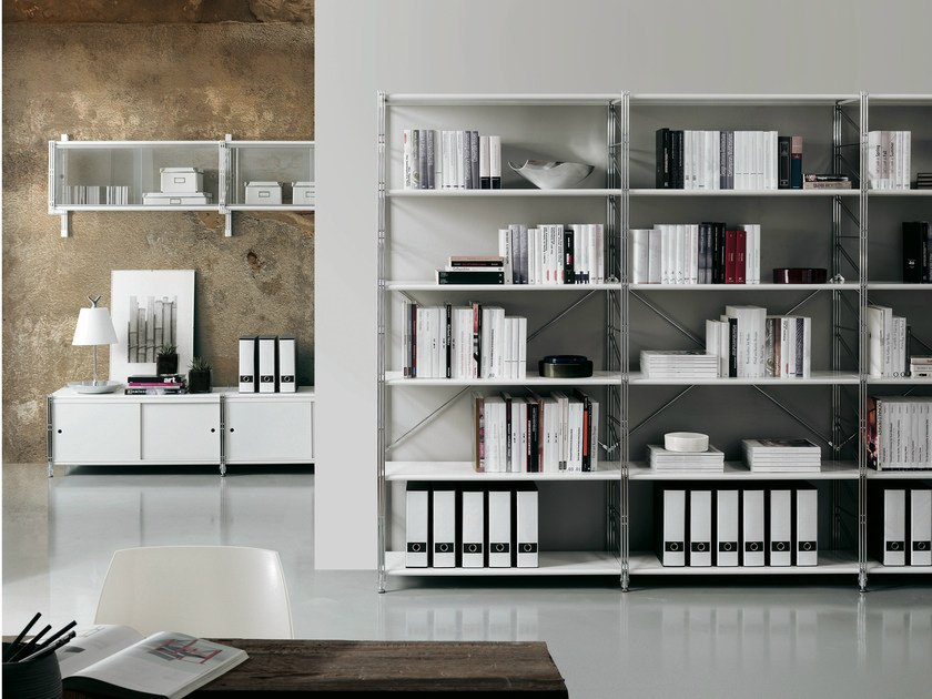 Sectional bookcase SOCRATE HOME   Bookcase by Caimi Brevetti
