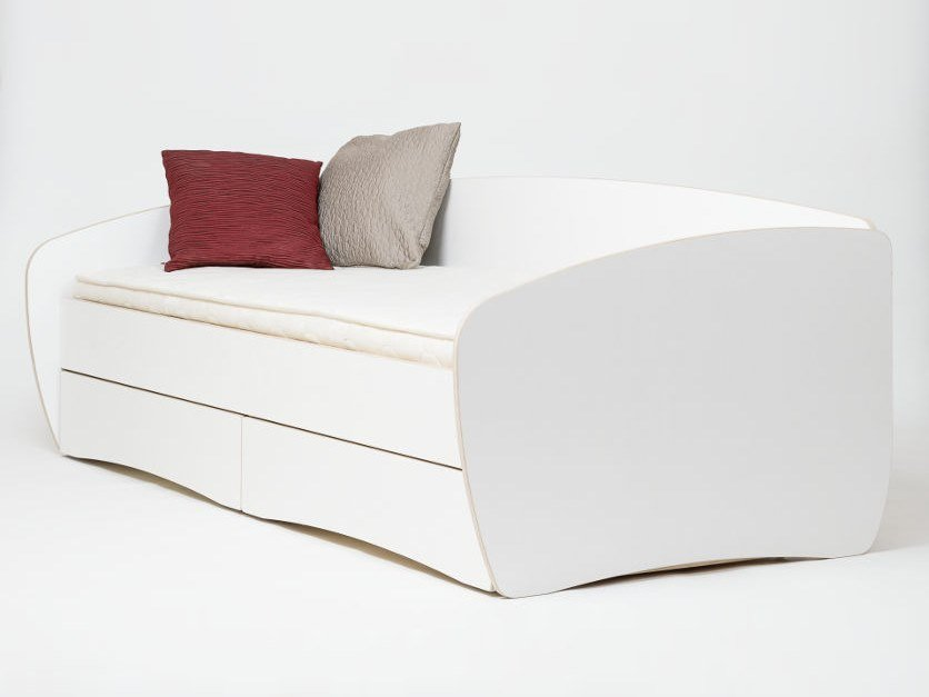 Storage bed SOFFI by Radis