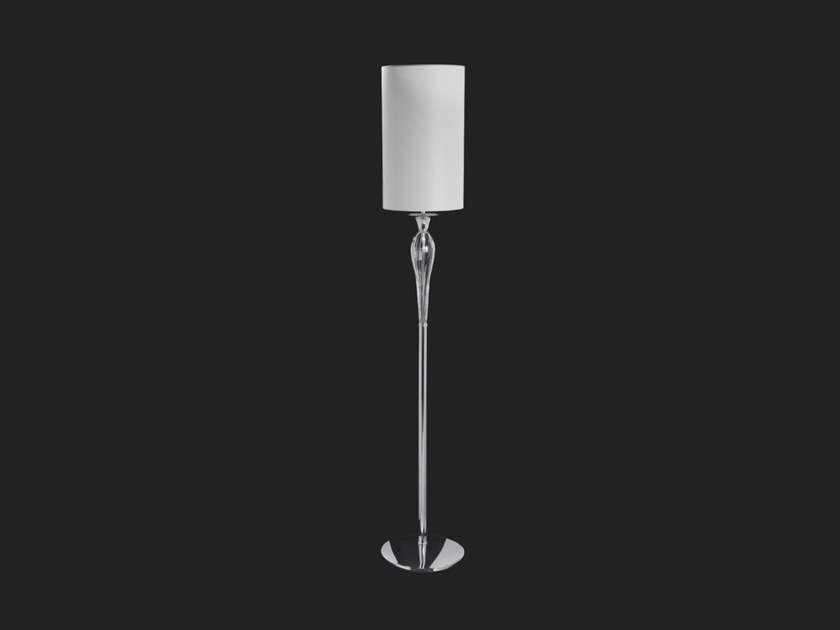LED floor lamp with crystals SOFFIO | Floor lamp by Aiardini