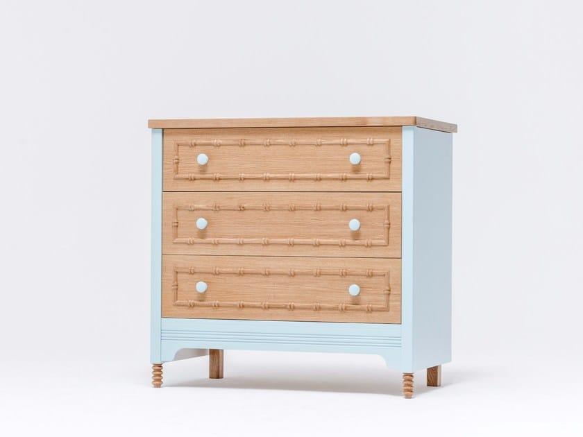 Kinderkommode Aus Eichenholz Sofia Dresser 3 By St Furniture