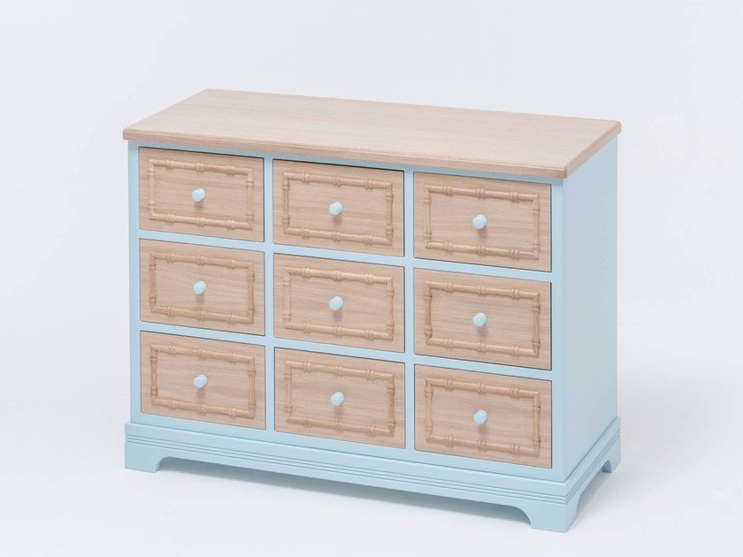 Oak chest of drawers SOFIA DRESSER 9 by ST FURNITURE