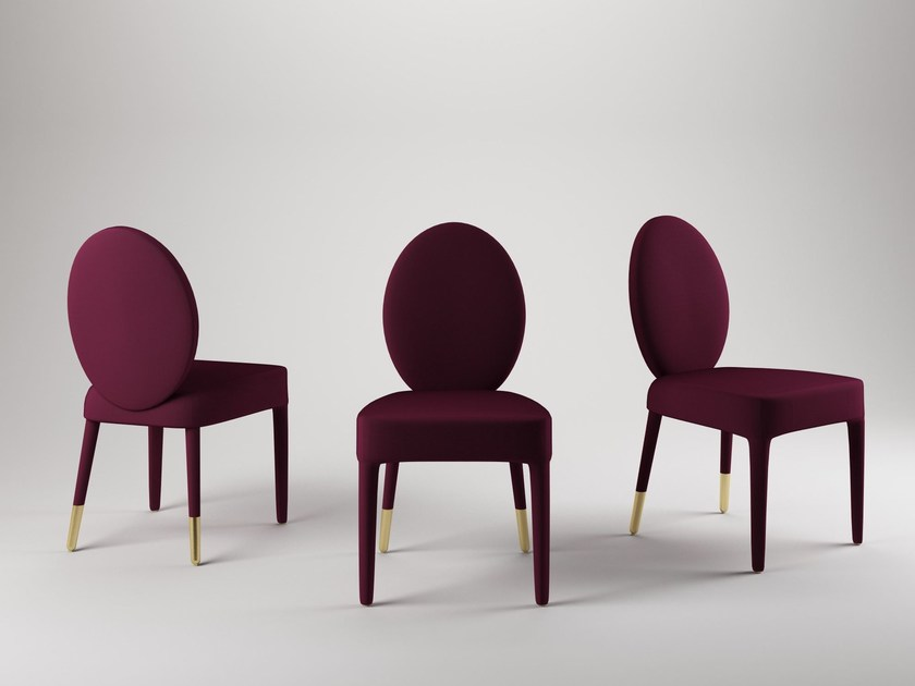 Upholstered chair SOFIA by Paolo Castelli