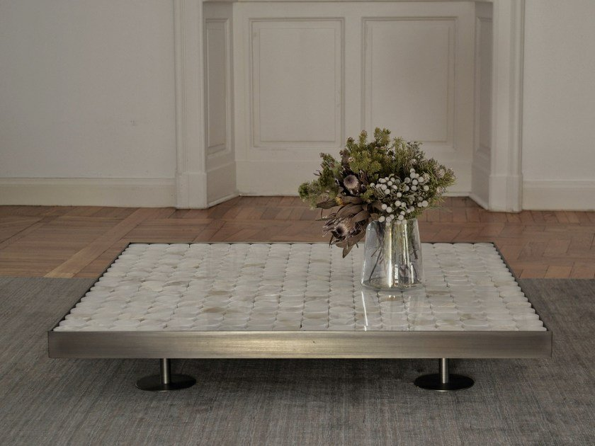 Low onyx coffee table SOFIA By mg12 design Monica Freitas Geronimi
