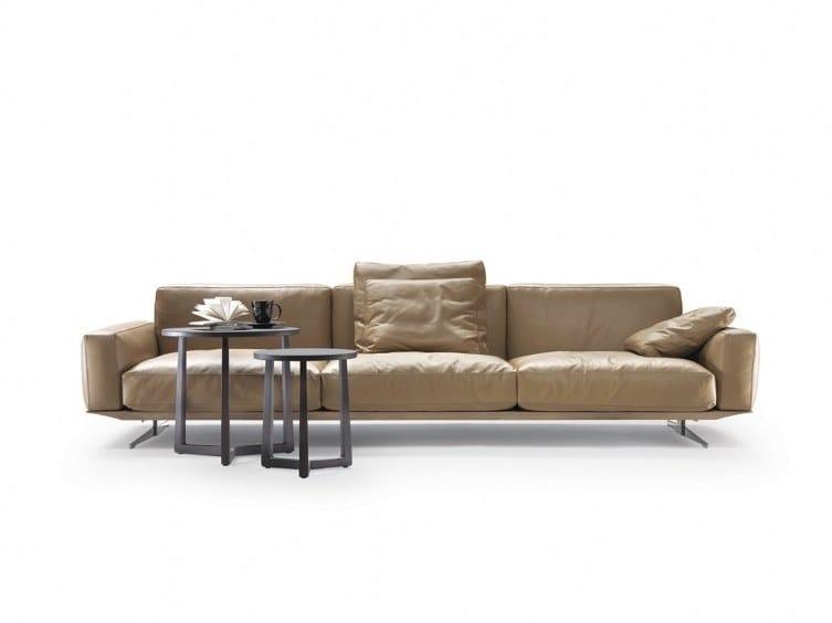 Soft Dream Large Leather Sofa