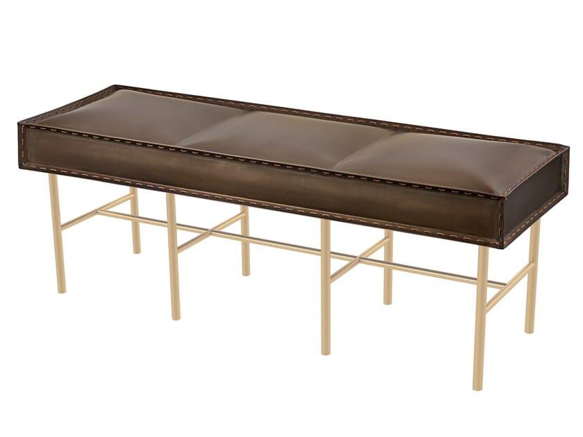 Iron bench SOFT IRON 02 by Il Bronzetto