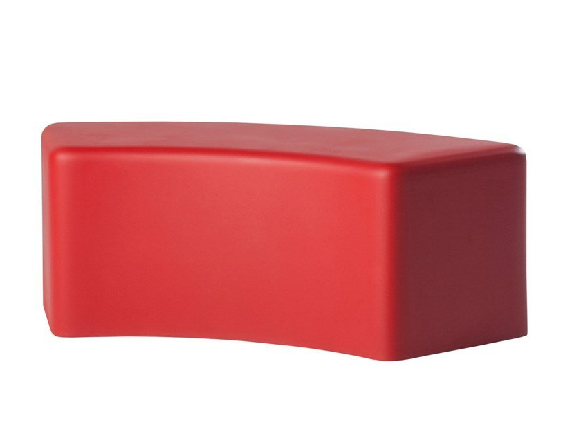 Modular polyurethane bench SOFT SNAKE by SLIDE