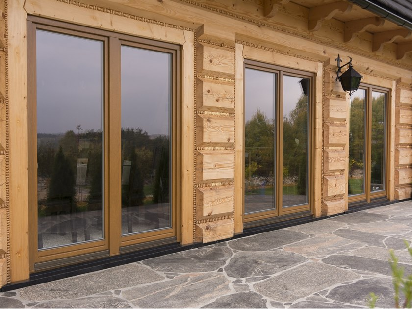 Wooden window SOFTLINE | Wooden window by Drutex